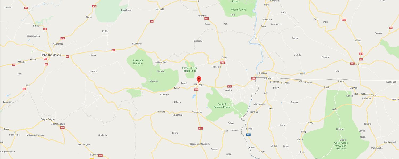 localisation de ethnie Dagari / Dagara