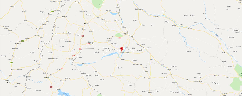 localisation de ethnie Toupouri / Tupur