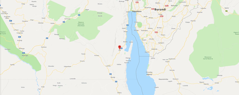 localisation de ethnie Bembe / Babembe