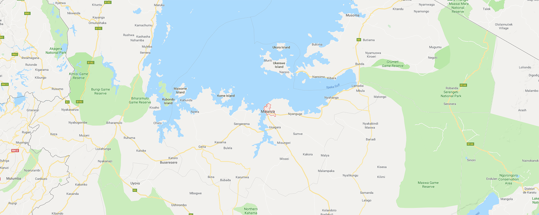 localisation de ethnie Sukuma
