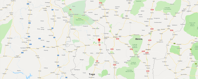 localisation de ethnie Losso