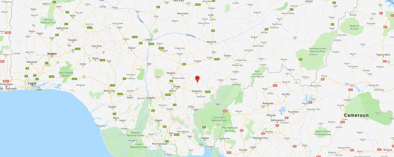 localisation de ethnie Urhobo / Orubo