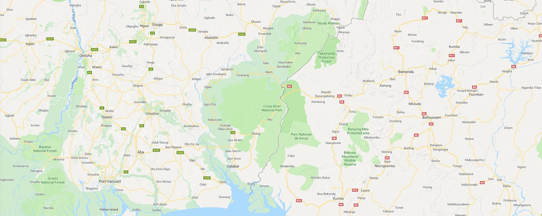 localisation de ethnie Boki / Bokyi