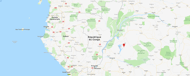 localisation de ethnie Lendu