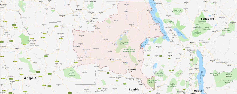 localisation de ethnie Holoholo