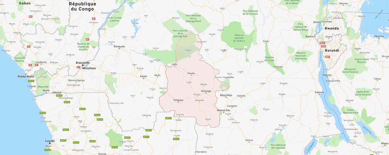 localisation de ethnie Lele / Bashilele