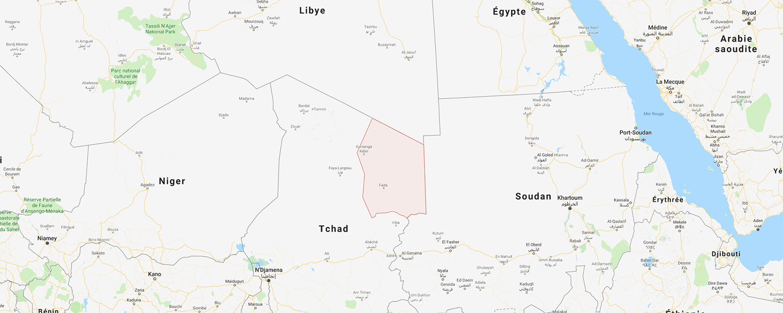 localisation de ethnie Marghi