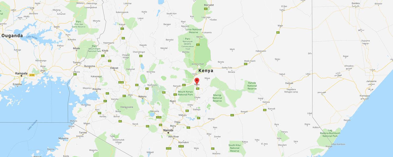 localisation de ethnie Meru / Kenya