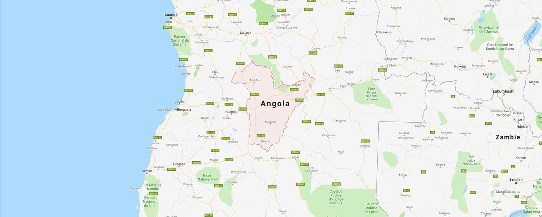 localisation de ethnie Ovimbundu