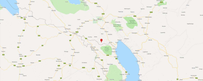 localisation de ethnie Konde / Nyakyusa