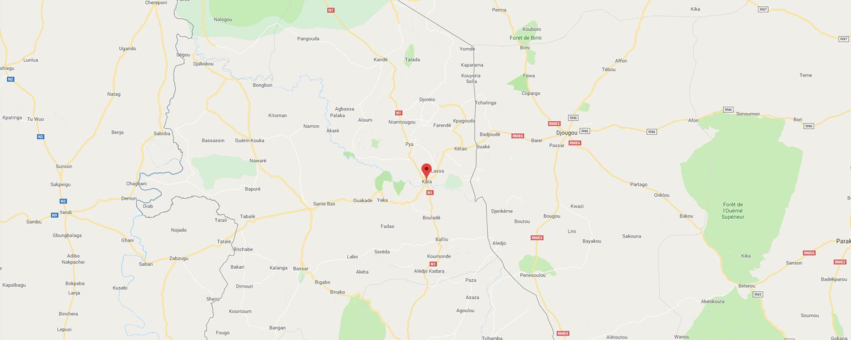 localisation de ethnie Lamba