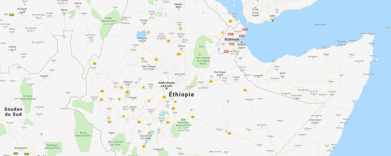 localisation de ethnie Kembata / Kembatta