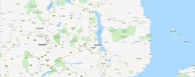 localisation de ethnie Chewa