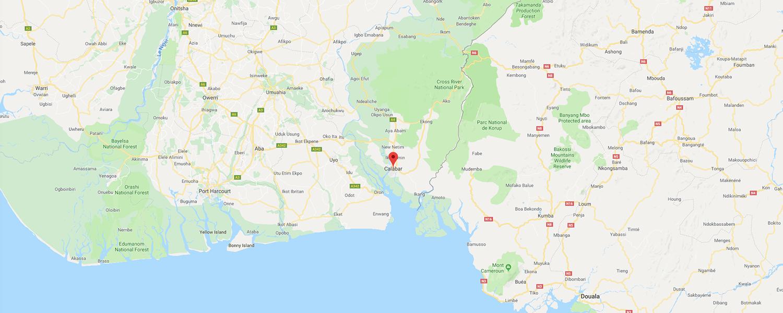 localisation de ethnie Kalabari