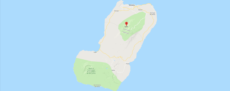 localisation de ethnie Bubi