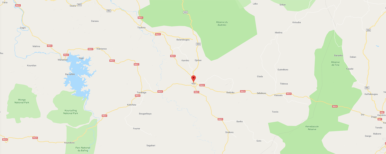 localisation de ethnie Malinké / Mandingue