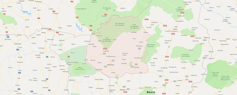localisation de ethnie Otammari / Batammariba