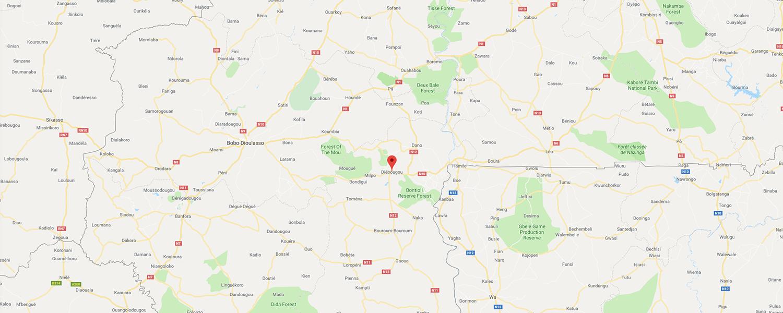 localisation de ethnie Pougouli / Pwa