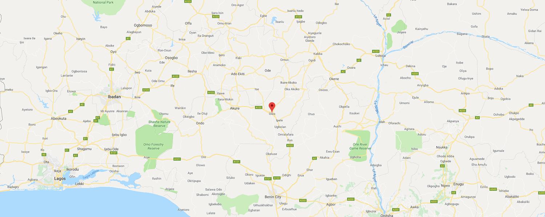 localisation de ethnie Owu / Owo