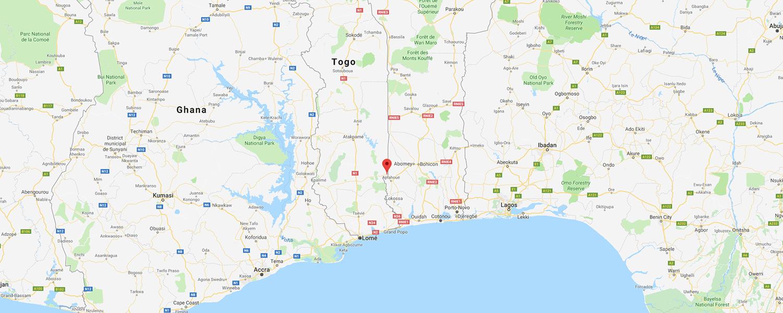 localisation de ethnie Ada / Adja / Adan / Adangbe
