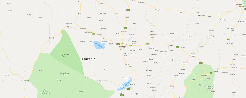 localisation de ethnie Kaguru / Kagulu