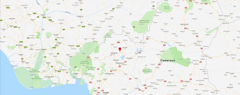 localisation de ethnie Babungo / Bamungo
