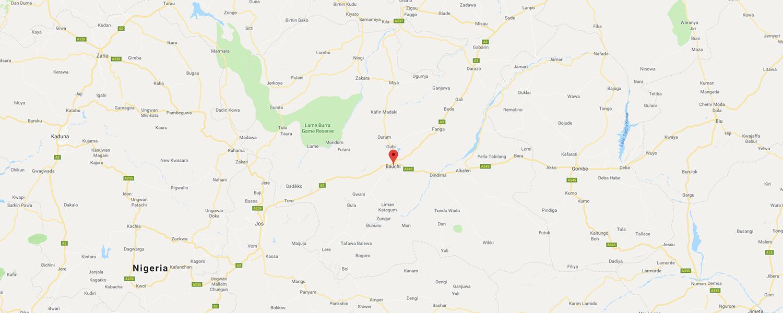localisation de ethnie Nok - Région de