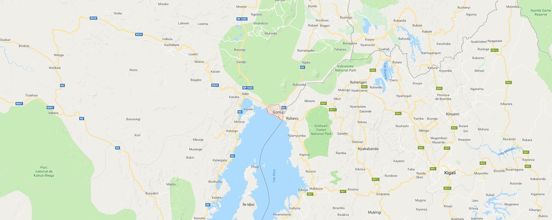 localisation de ethnie Komo / Kumu